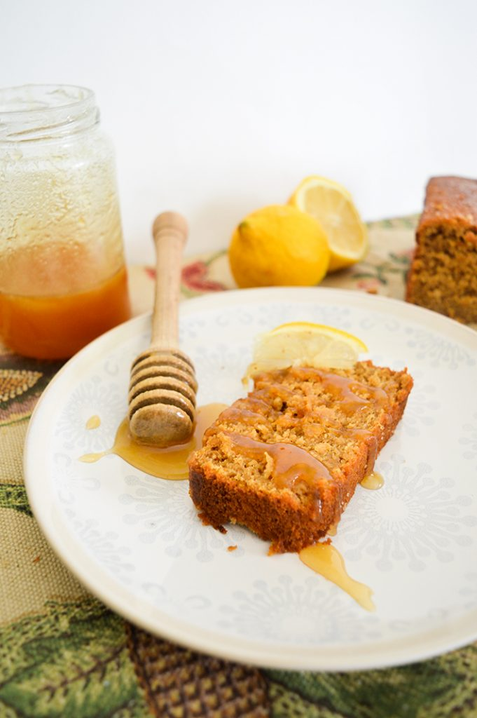Cake citron carotte avoine