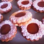 Biscuits sablés au caramel beurre salé