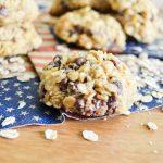 Biscuits anglais aux flocons d'avoine et au chocolat {défis culinaire #16}