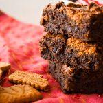 Brownie au chocolat et speculoos