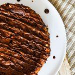 Cheesecake-brownie chocolat & vanille