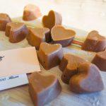 Coeur de chocolats Dulcey {pour la fête des mères}
