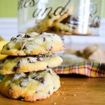 Cookies bananes séchées et chocolat au lait