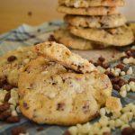 Cookies chocolat blanc et riz soufflé au chocolat