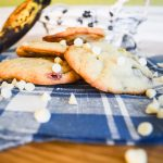 Cookies bananes, chocolat blanc & smarties