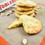 Cookies Toblerone blanc & cacahuètes