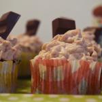 Cupcakes aux Kinder Maxi