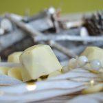 Petits diamants chocolat blanc & praliné