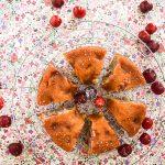 Gâteau moelleux cerises & amandes