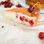 Gâteau magique aux griottes