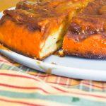 Gâteau renversé aux bananes caramélisées