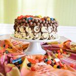 Layer cake géant au 3 chocolats {spécial anniversaire d'enfant}