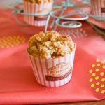 Muffins aux pommes et crumble aux noisettes
