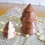 Le tempérage du chocolat: méthode classique ou au micro-onde {recette inside : sapin en chocolat}