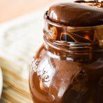 Sauce chocolat  {noire ou au lait}
