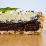 Tarte choco-menthe et sa chantilly au chocolat blanc