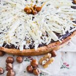Tarte chocolat/caramel & fruits secs