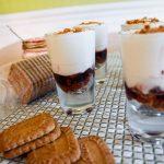 Verrines façon cheesecake : cerises & spéculoos